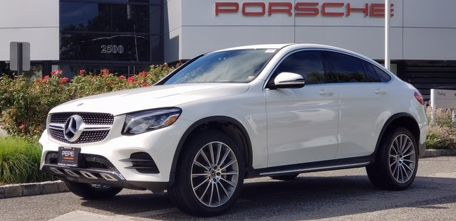 Pre-Owned 2018 Mercedes-Benz GLC GLC 300 Coupe